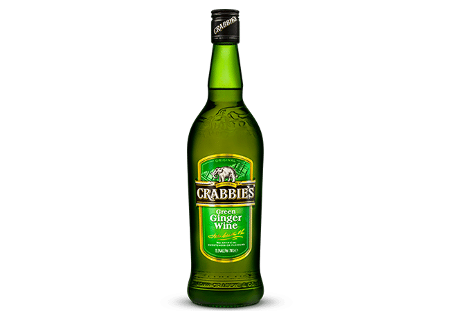 Crabbies Green Ginger Wine Bottle