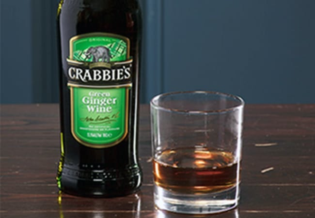 Crabbies Green Ginger Wine Serve