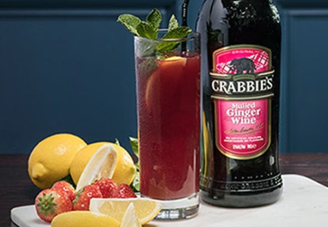 Crabbies Mulled Spiced Summer Collins Serve