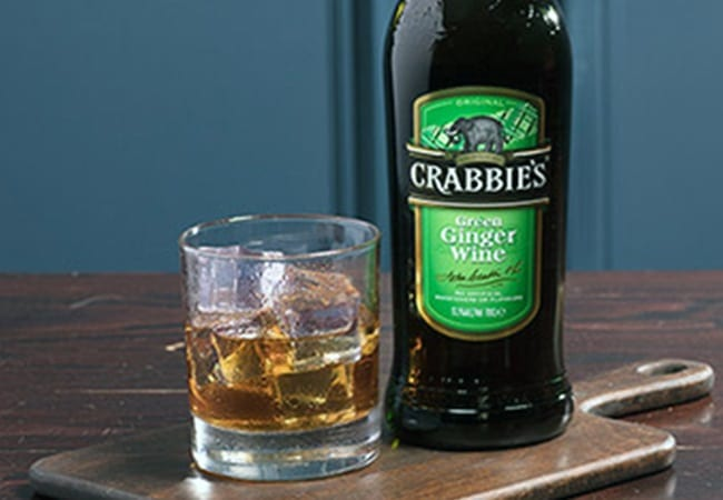 Crabbies Whiskey Mac Serve